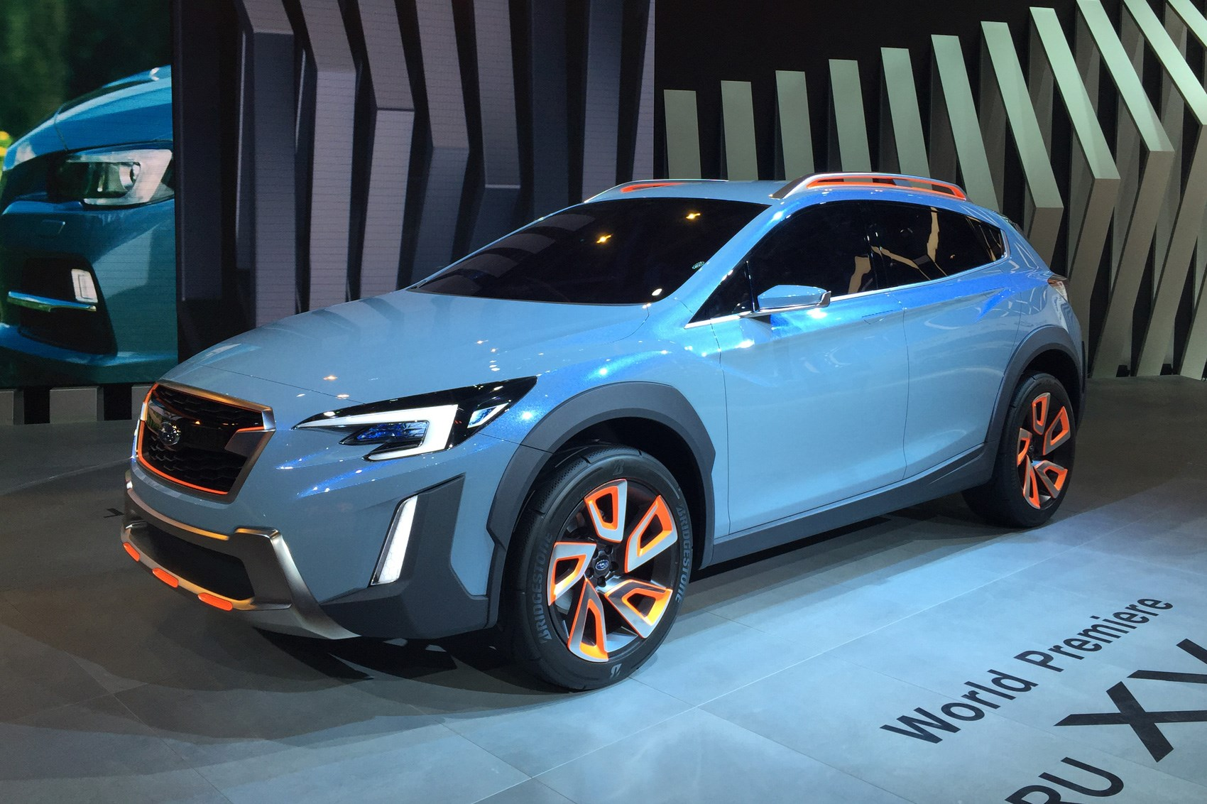 Subaru Xv Concept Revealed At 2016 Geneva Motor Show By