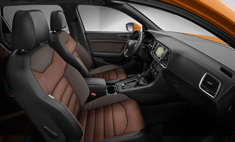 Cabin of the new Seat Ateca 2016