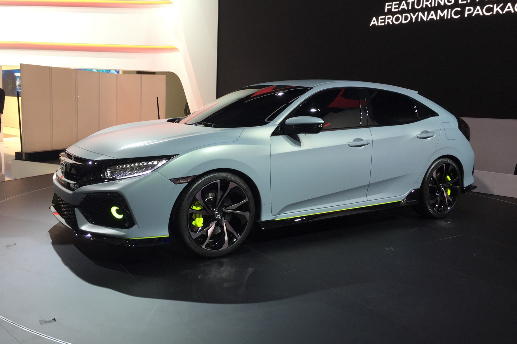New 2017 Honda Civic Prototype Unveiled In Geneva