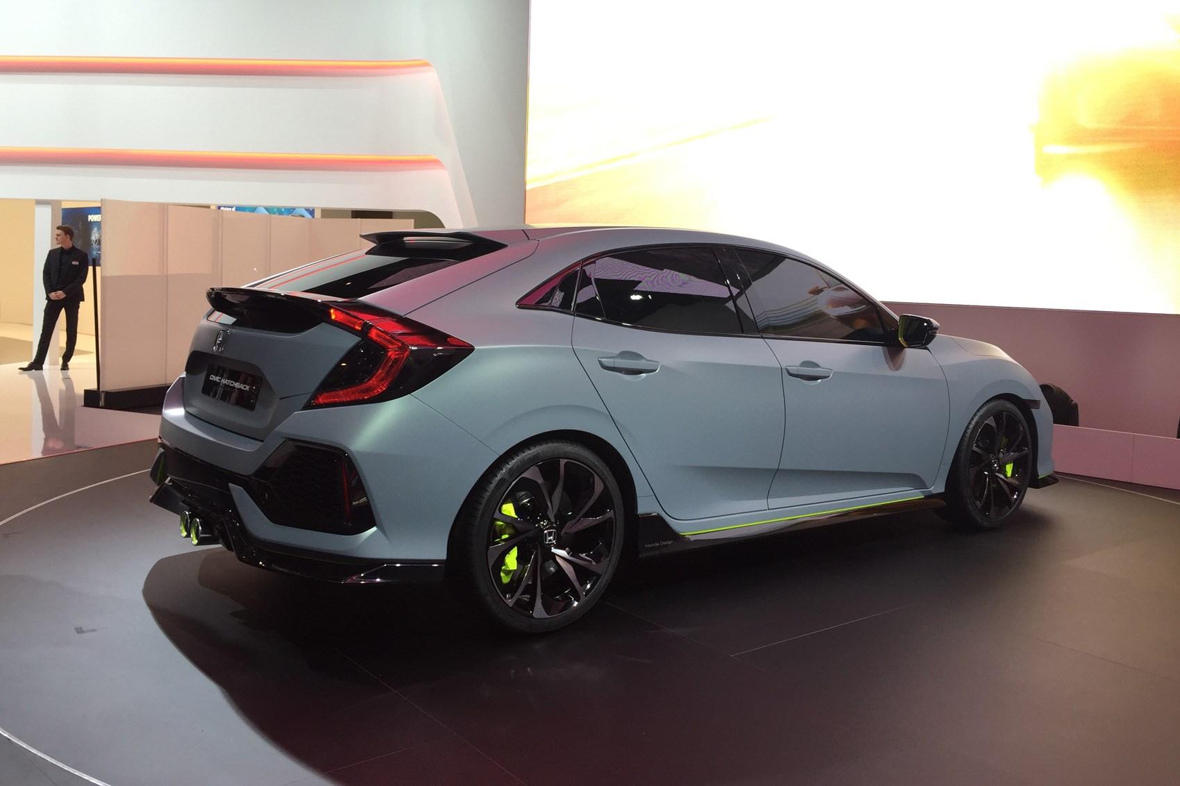 New 2017 Honda Civic Prototype Unveiled In Geneva Car