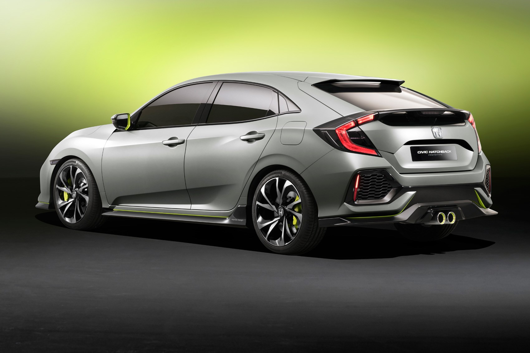 new 2017 honda civic prototype unveiled in geneva by car magazine. Black Bedroom Furniture Sets. Home Design Ideas