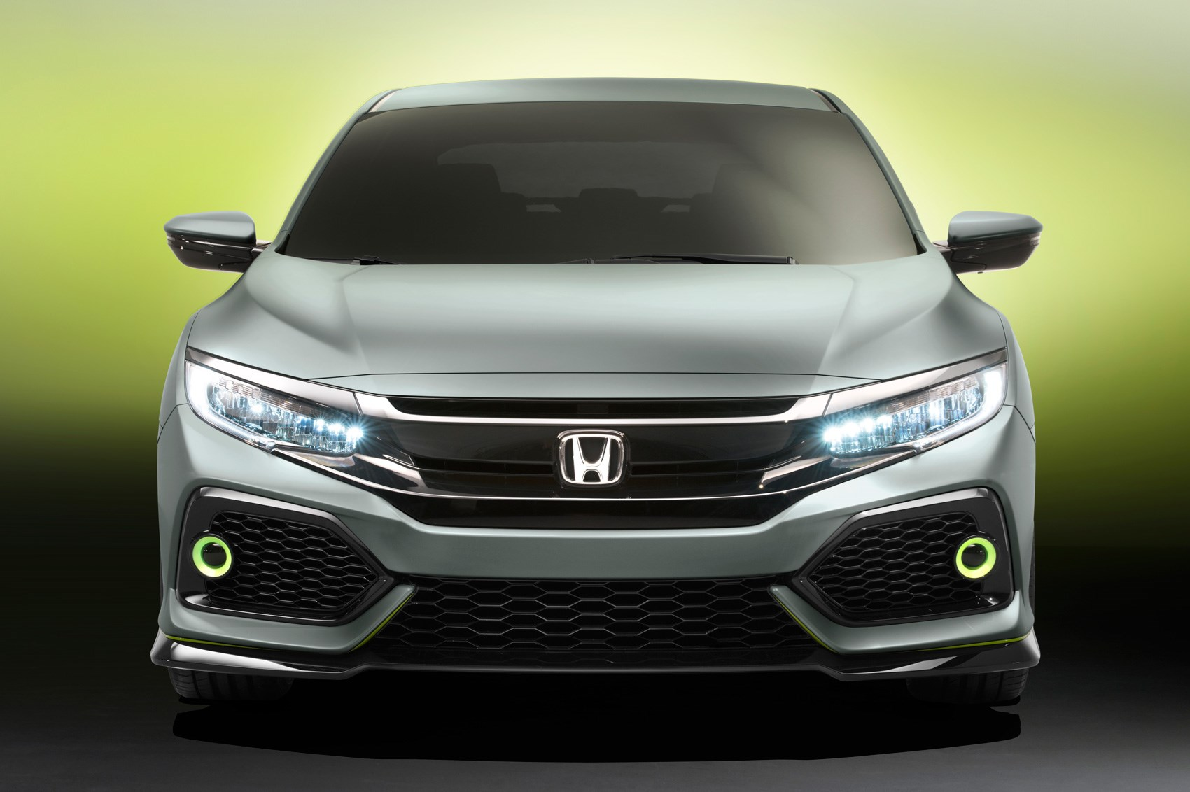 New 2017 Honda Civic Prototype Unveiled In Geneva By Car