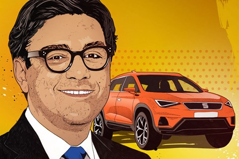 Luca de Meo, as illustrated by CAR magazine
