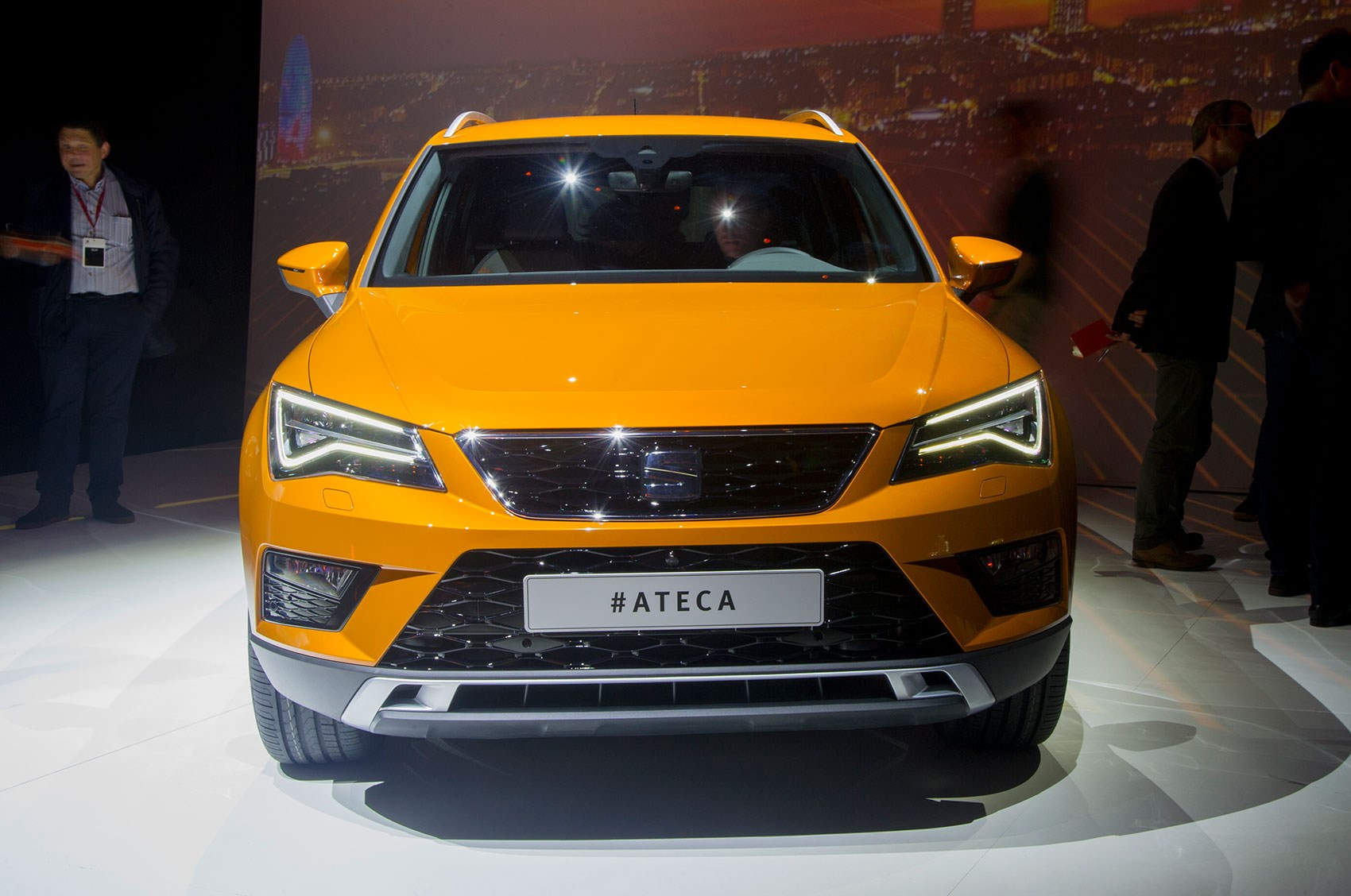 Seat Ateca At Its World Debut In Barcelona