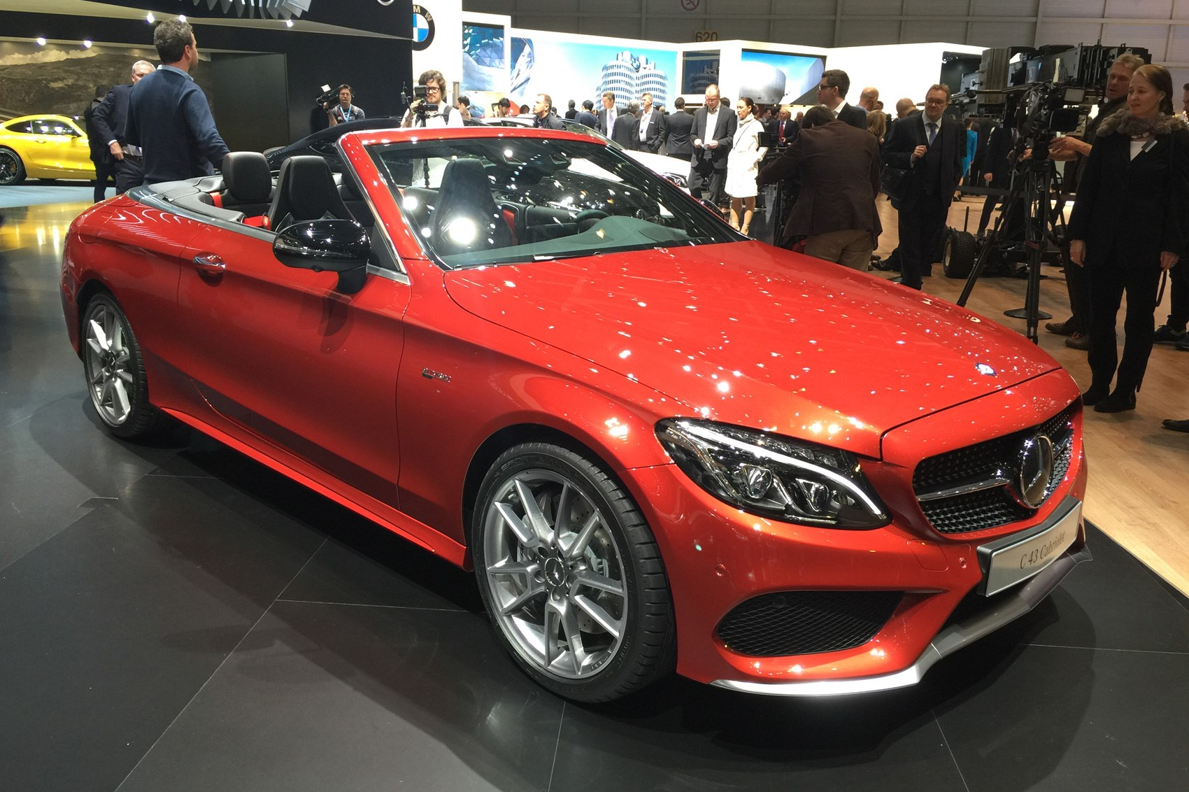Designer Fabric New 2016 Mercedes C Cl Cabriolet Revealed At Geneva