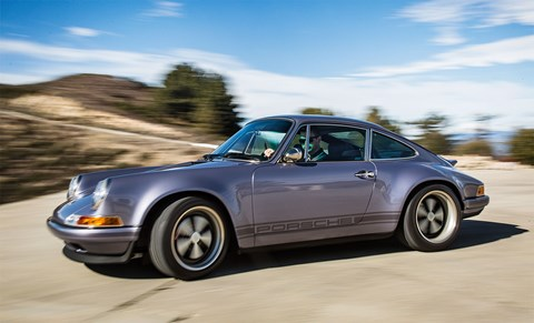 "'The car had to  be a blue-sky  ""what if?"" With no limits, how great could the air- cooled 911 be?'"