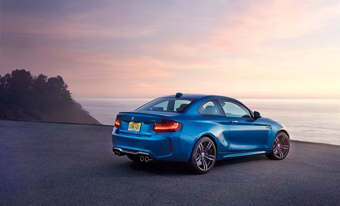While the M4 feels like a slimmer M6, the M2 is eerily close in ability and emotion to the coveted M3 E46