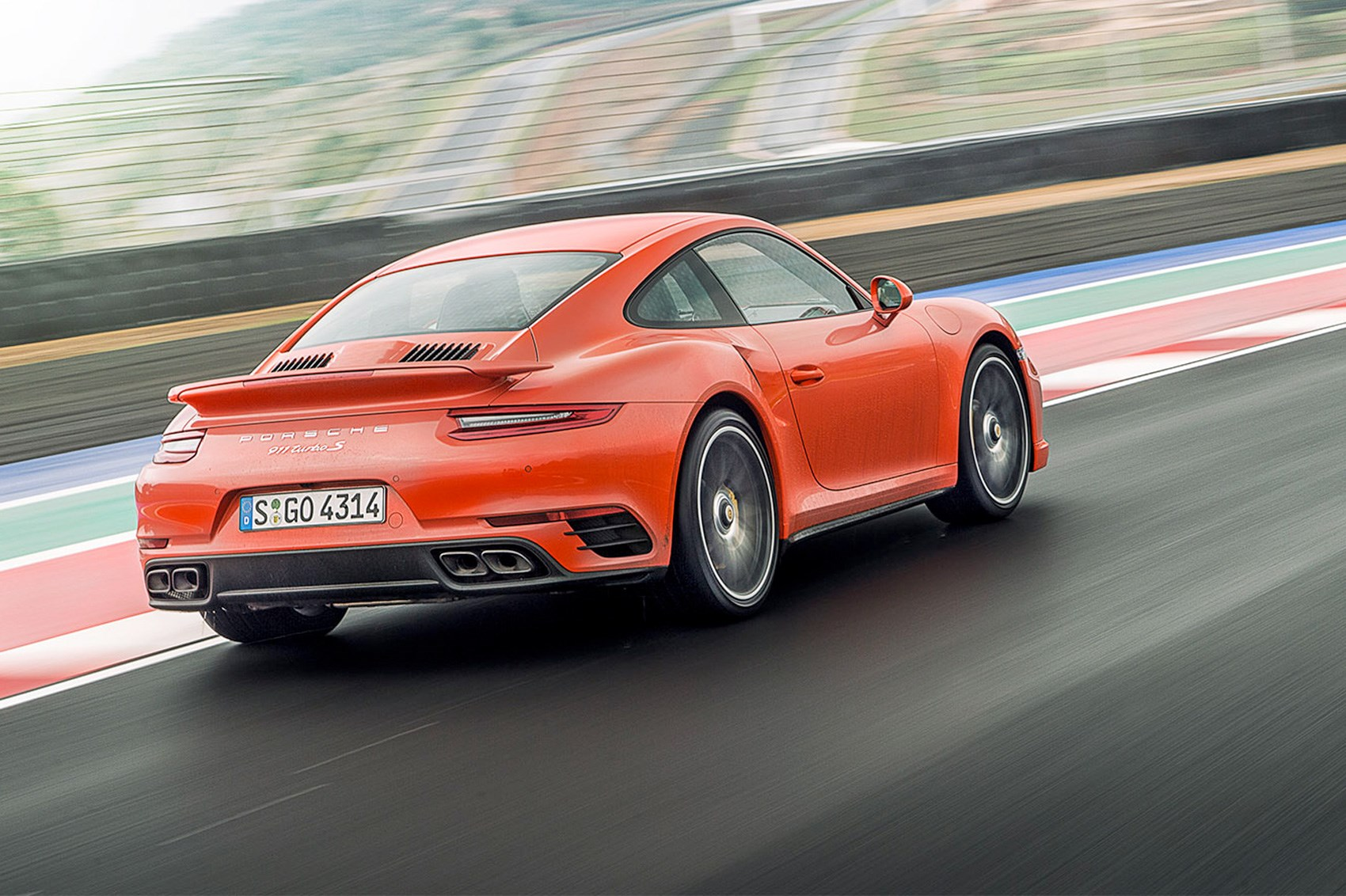 guilty as charged porsche 911 turbo s first drive car march 2016 by car magazine. Black Bedroom Furniture Sets. Home Design Ideas