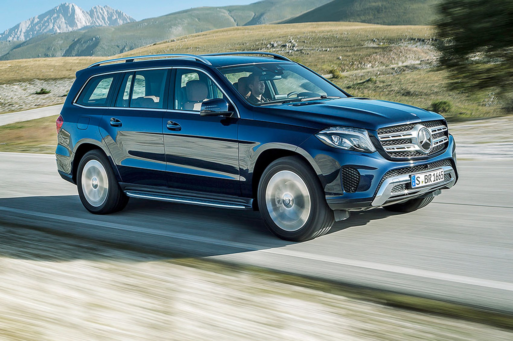 Mercedes Benz Gls First Drive Car March 2016