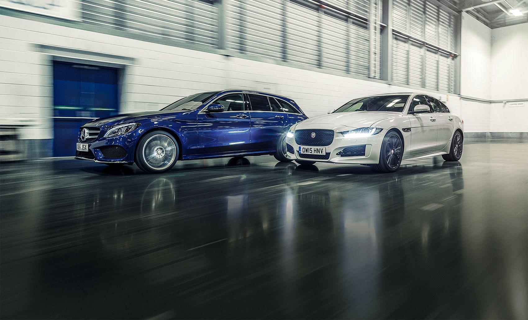 2016 39 s top leasing deals mercedes c class or jaguar xe for Mercedes benz lease seattle