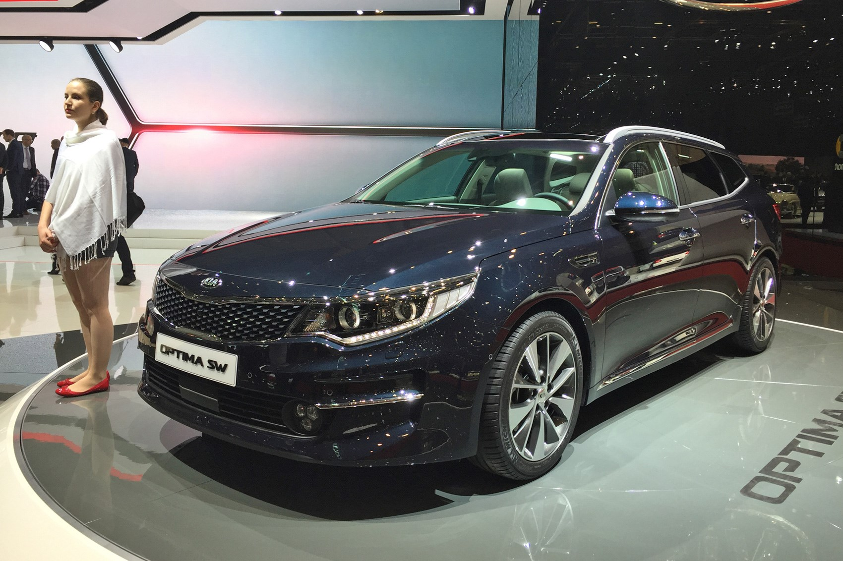 Kia Optima Sw Estate 2016 Revealed The You Might Actually Want To