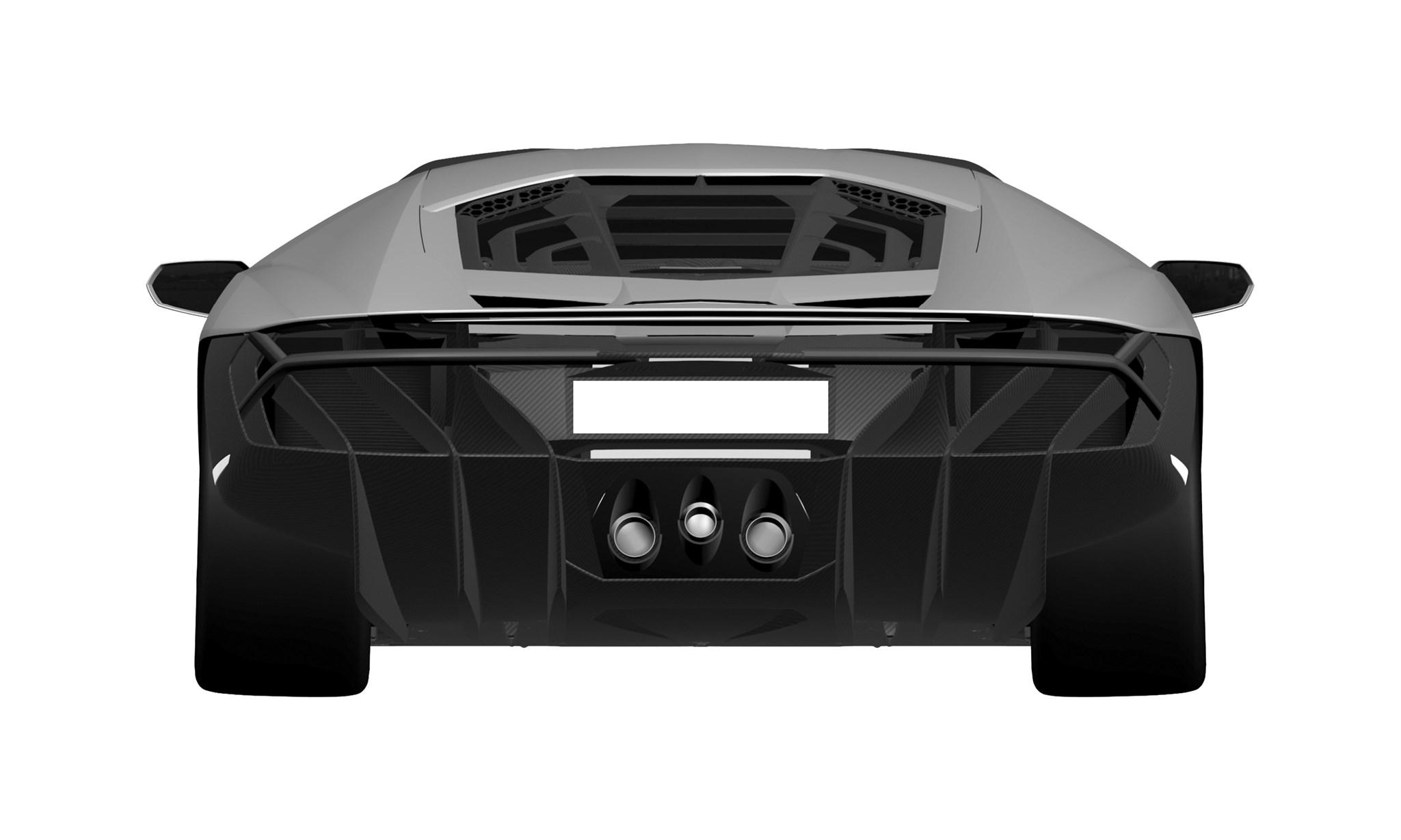 Lamborghini Centenario Lp770 4 Pictures Leaked Car Magazine