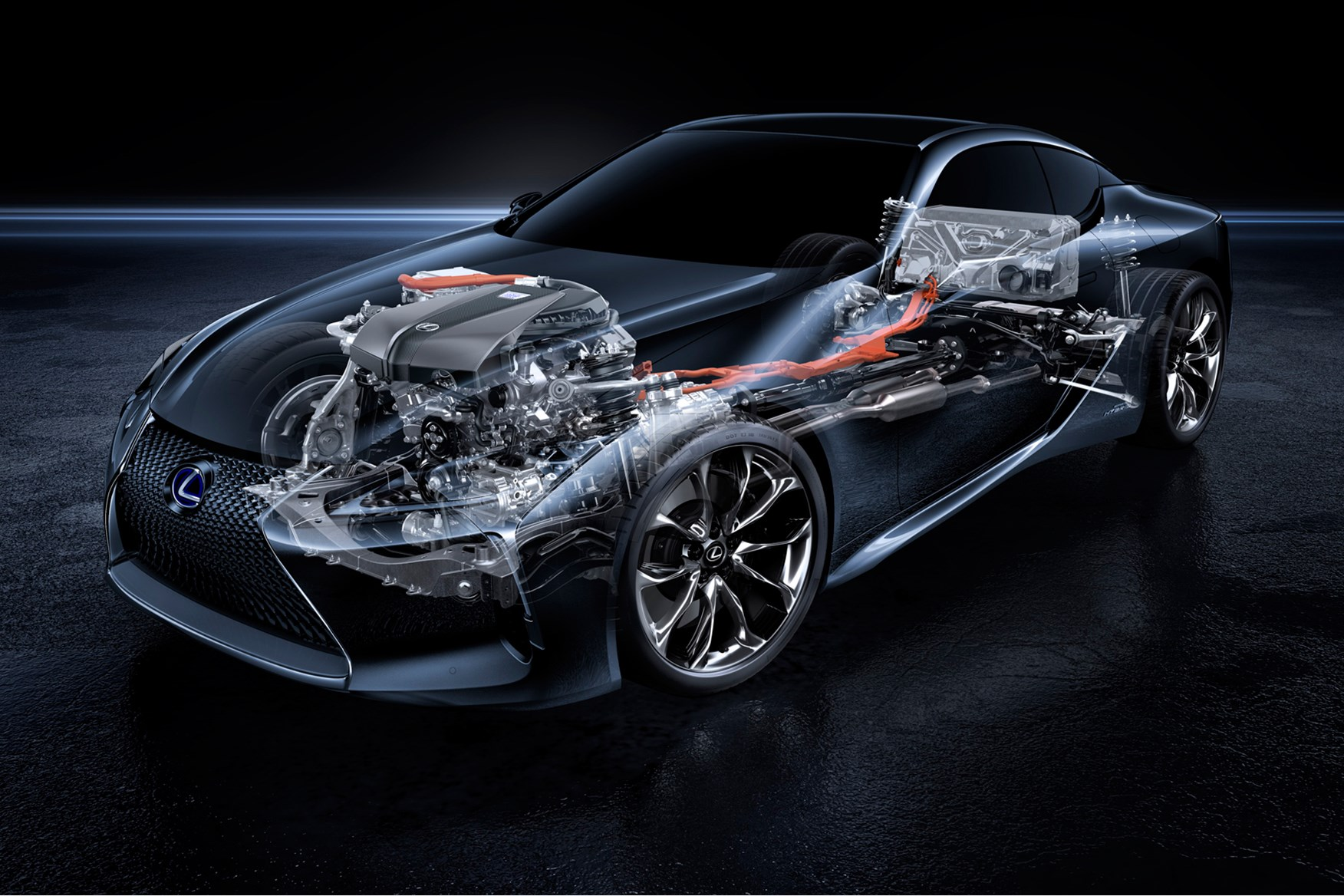 Rx 350 Engine Diagram Another Blog About Wiring 2007 Lexus Es Lc500h New Coupe Gets Clever Complex Hybrid Tech 2010