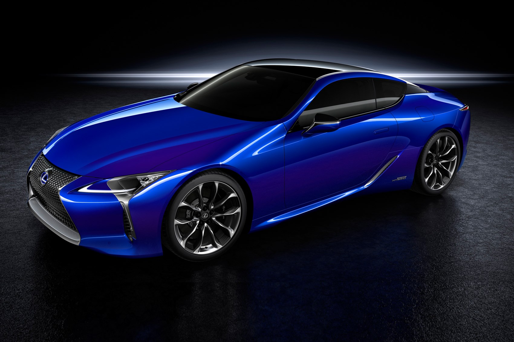 lexus lc500h new coupe gets clever  plex hybrid tech