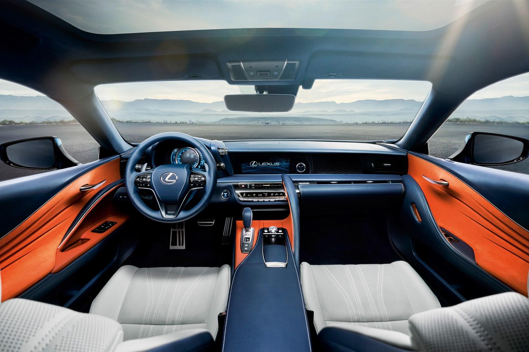 Lexus LC500h new coupe s clever plex hybrid tech for 2017