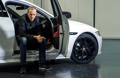 CAR magazine editor Phil McNamara and our Jaguar XE
