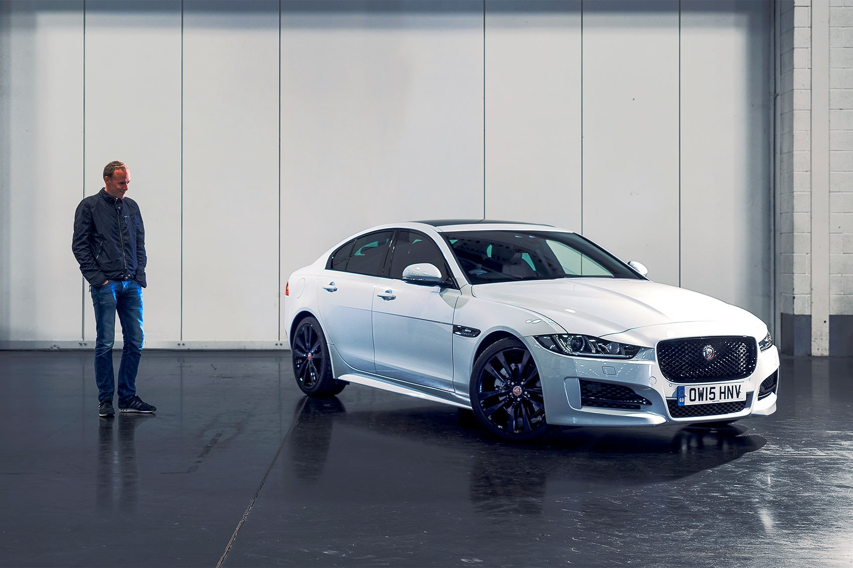 Car S Phil Mcnamara With The Long Term Jaguar Xe