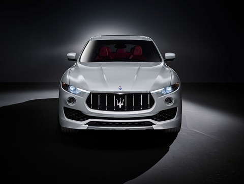 Face of the new Maserati Levante