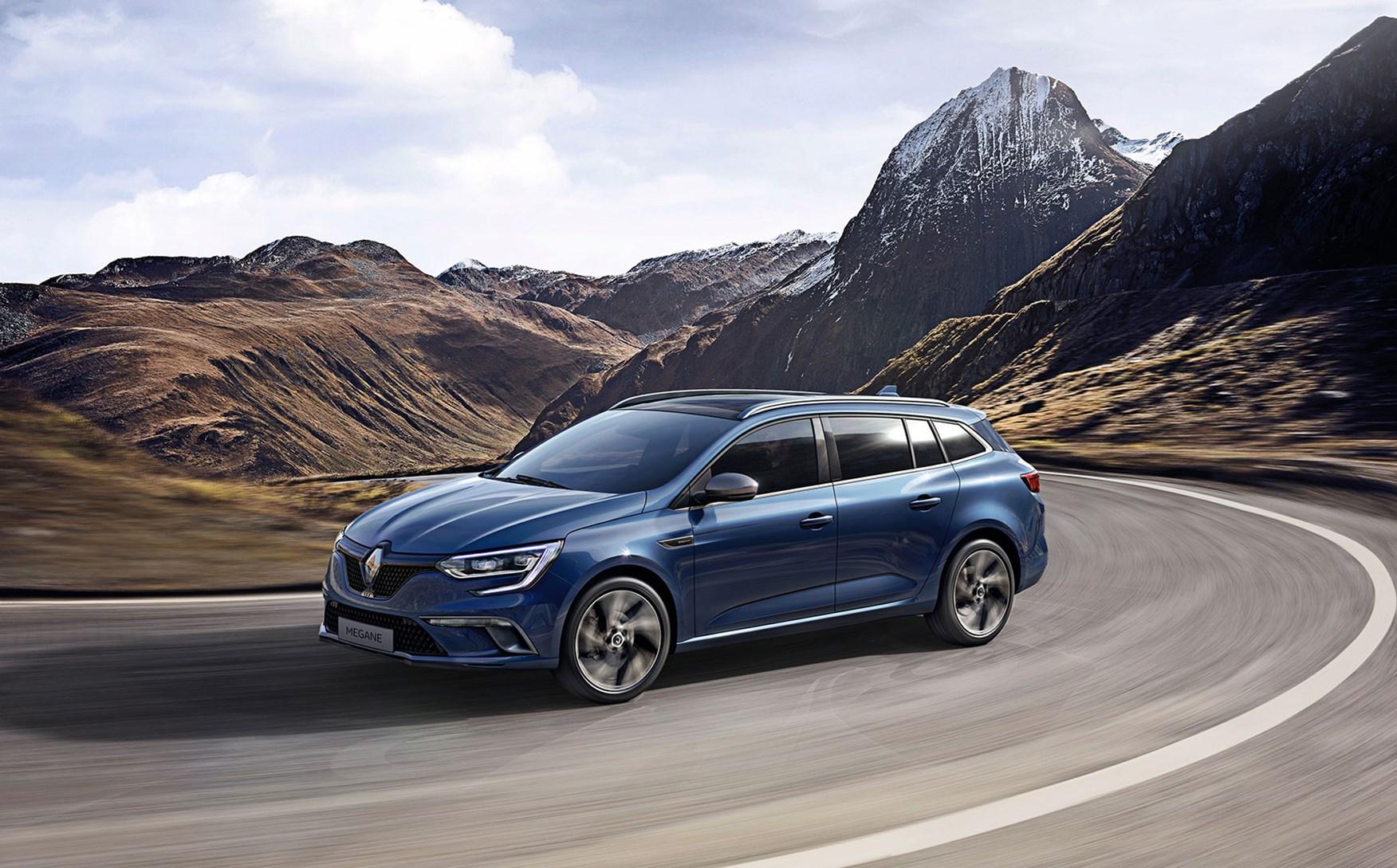 Renault Megane Sport Tourer It S The New 2016 Megane Estate Car