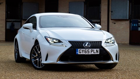 lexus rc 200t f sport 2016 review by car magazine. Black Bedroom Furniture Sets. Home Design Ideas