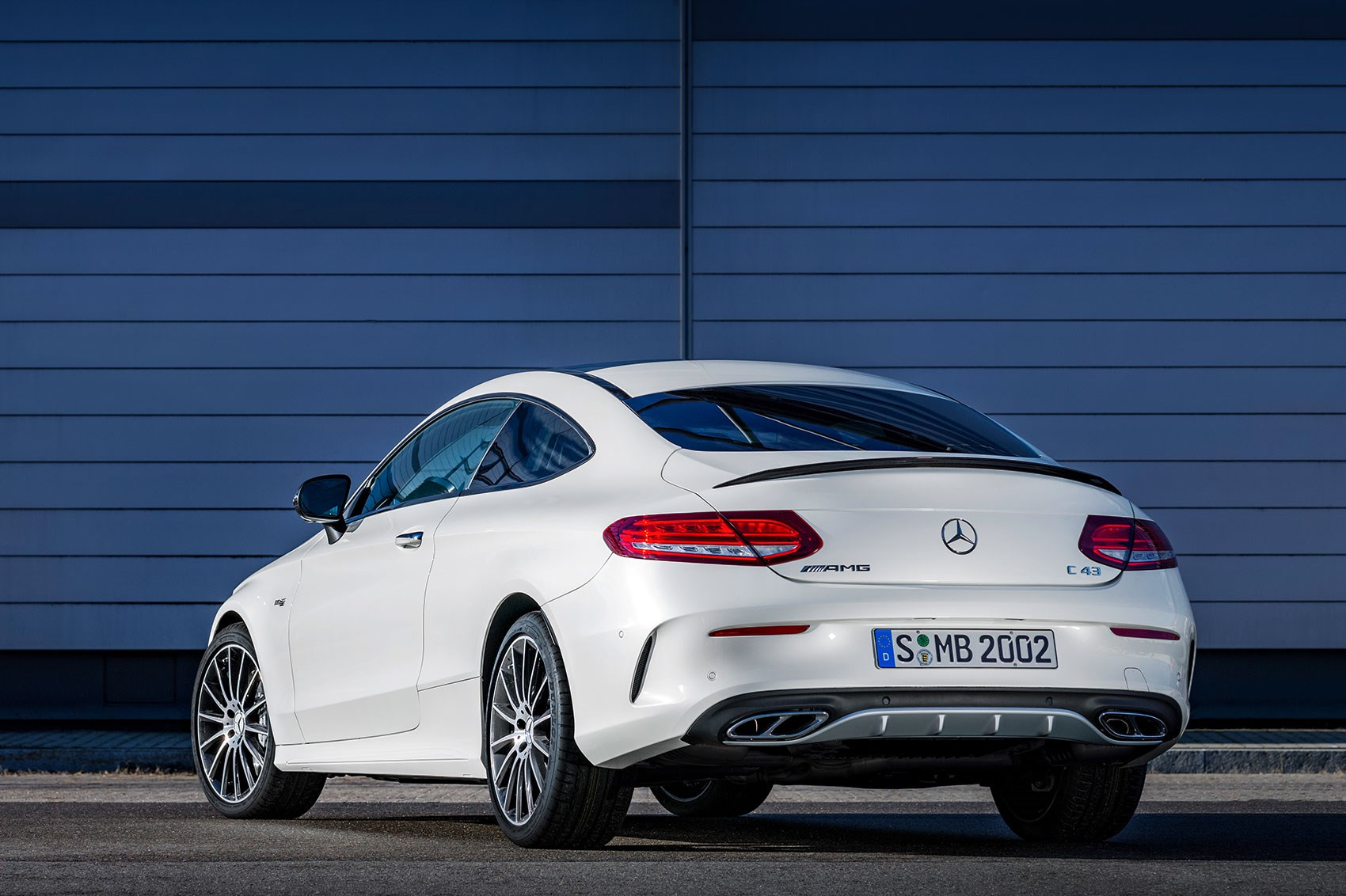 mercedes amg c43 coupe revealed the c63 gets a baby brother by car magazine. Black Bedroom Furniture Sets. Home Design Ideas