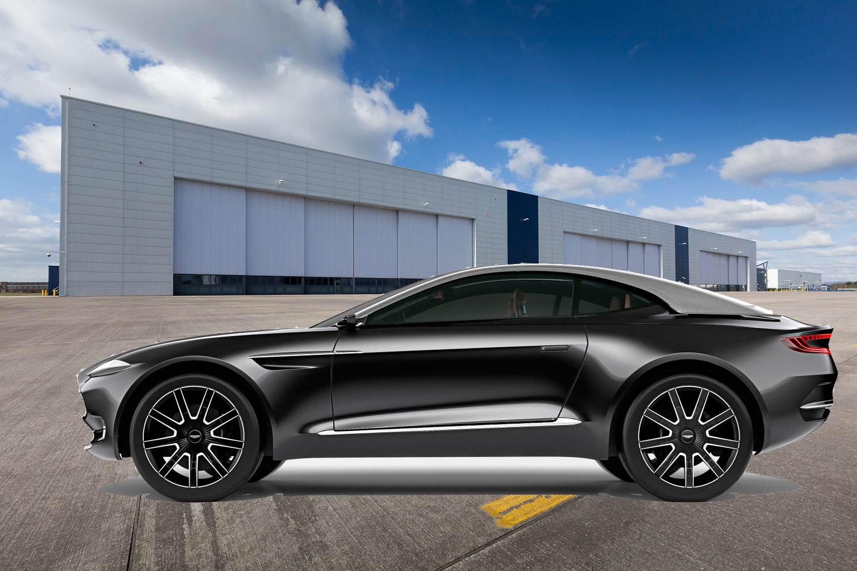 Aston Martin To Build New Factory In Wales For S DBX Crossover - Build your own aston martin