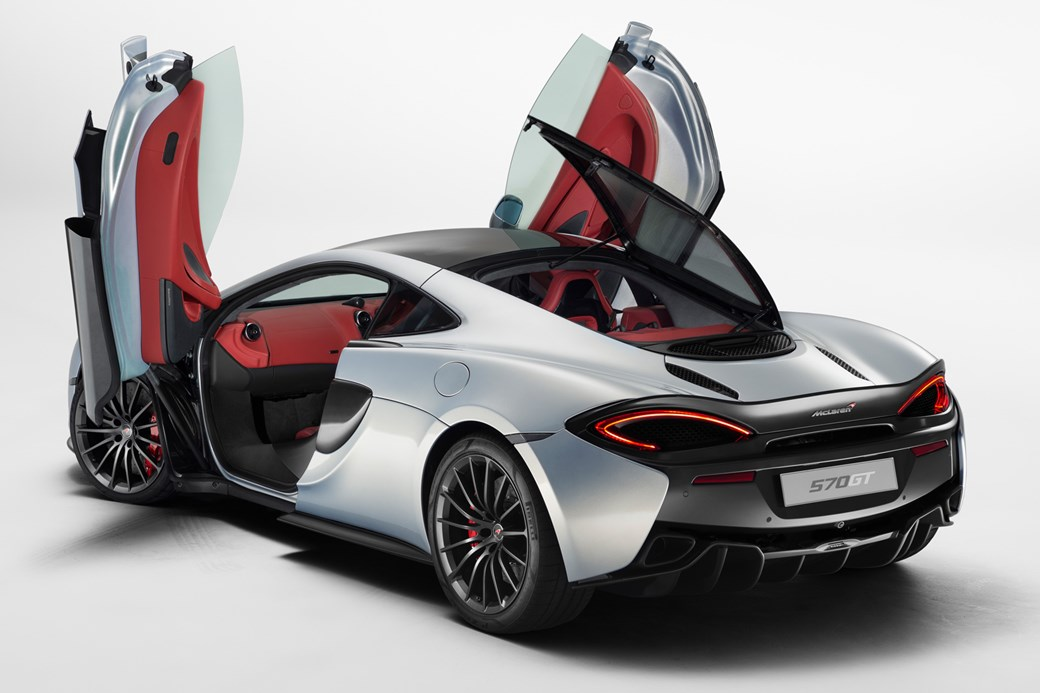 Practicality rules the boost McLaren 570GT revealed by CAR Magazine