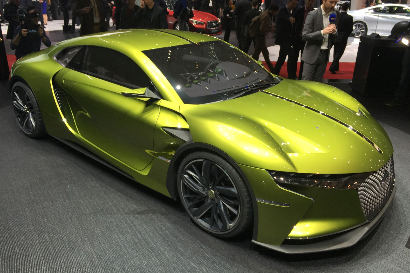 Super Charged Ds E Tense Gt Concept Revealed Car Magazine