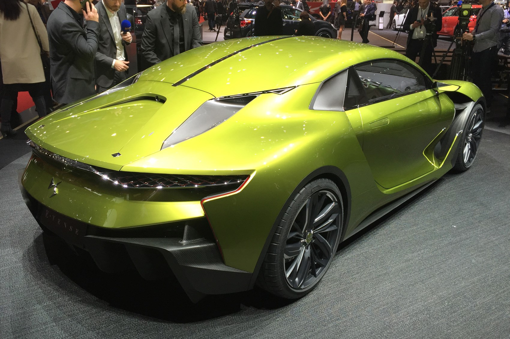 Jeep Concept 2016 >> Super, charged: DS E-Tense GT concept revealed | CAR Magazine
