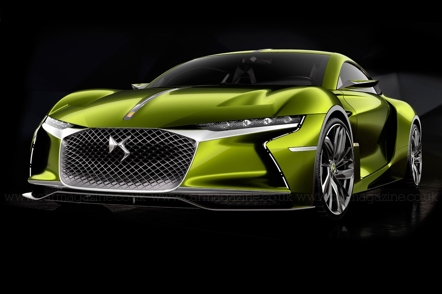 super charged ds e tense gt concept revealed by car magazine. Black Bedroom Furniture Sets. Home Design Ideas