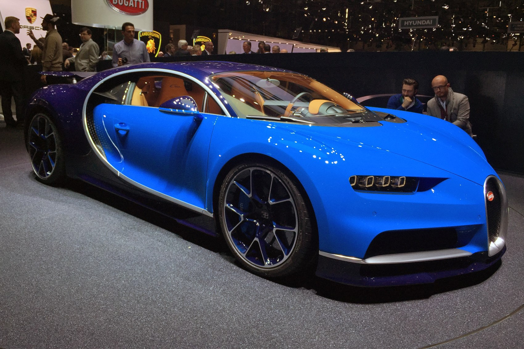 bugatti chiron revealed at geneva 2016 the world has a new fastest production car by car magazine. Black Bedroom Furniture Sets. Home Design Ideas