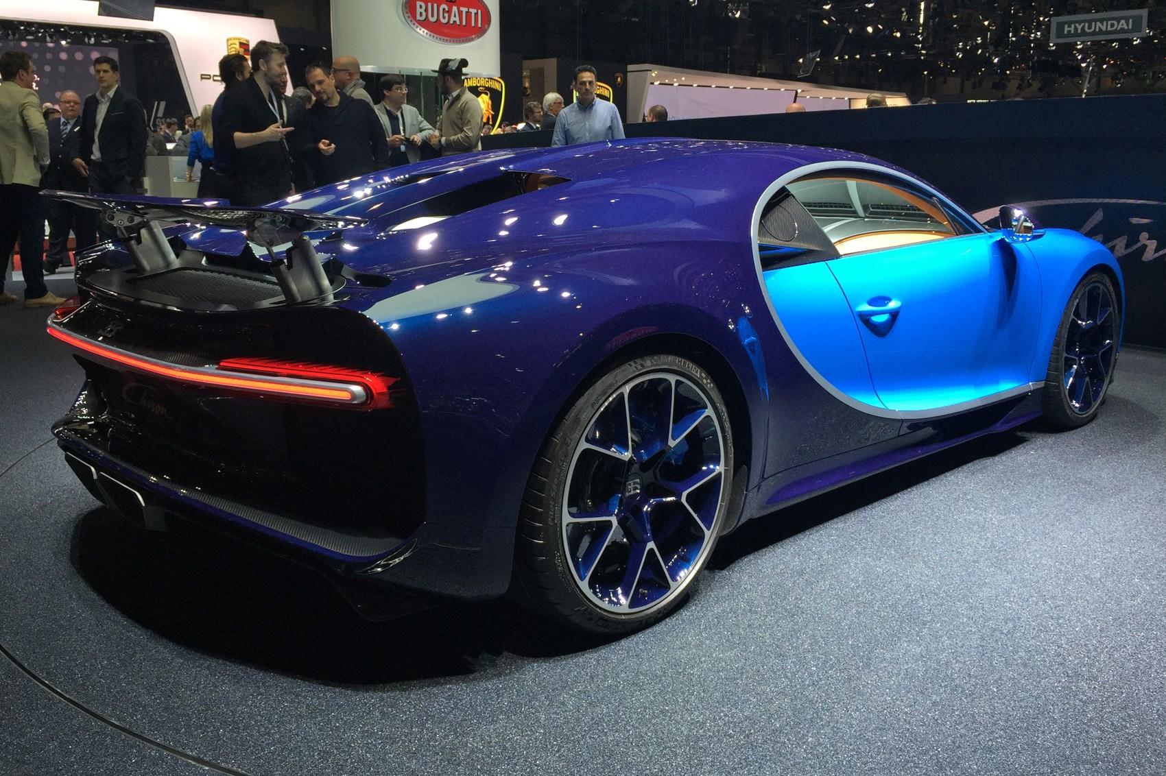 bugatti chiron revealed at geneva 2016: the world has a new