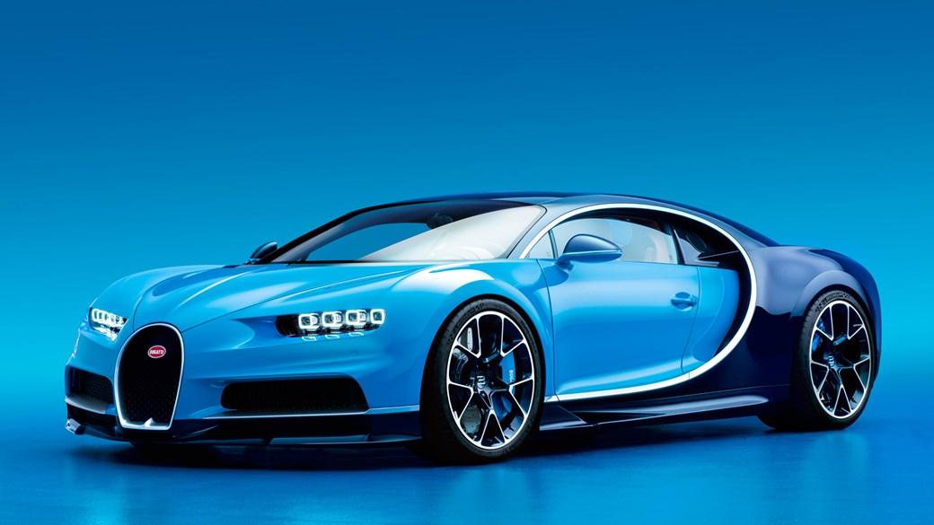 Bugatti Chiron revealed at Geneva 2016 the world has a new
