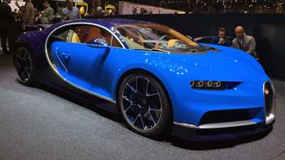 Bugatti is go! New Chiron name confirmed, here at Geneva ...