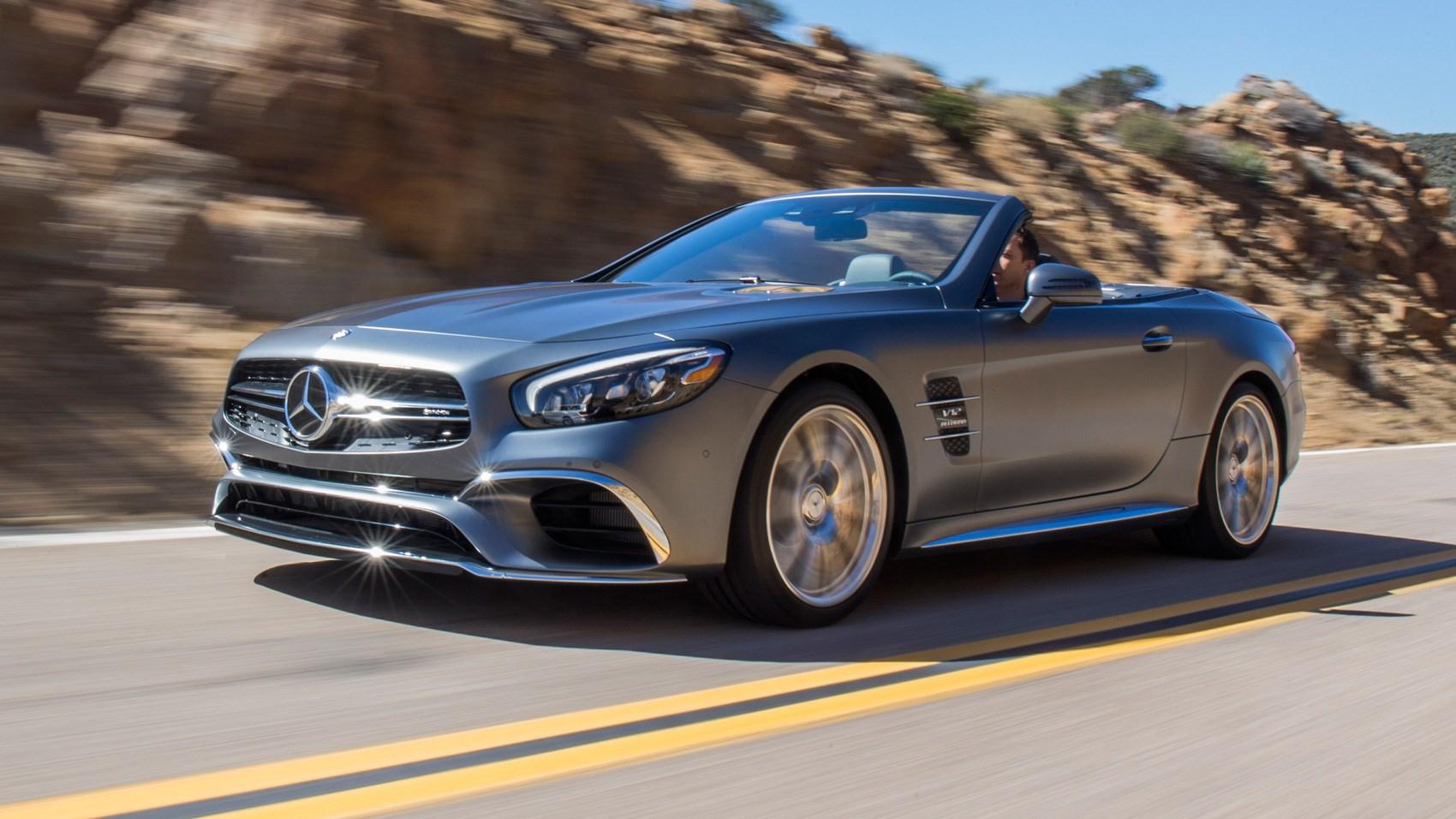MercedesAMG SL65 2016 review by CAR Magazine