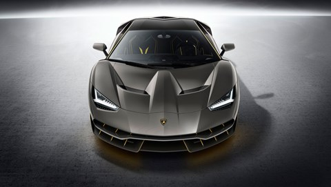 The new Lamborghini Centenario at the Geneva motor show