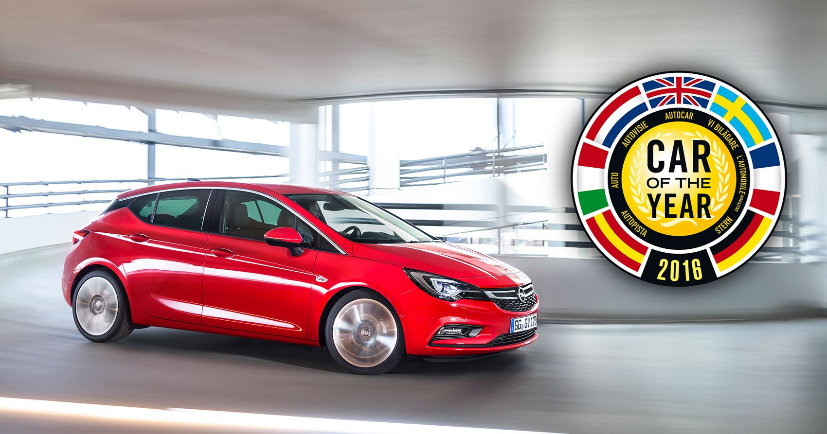 Vauxhall Astra Car Of The Year 2016