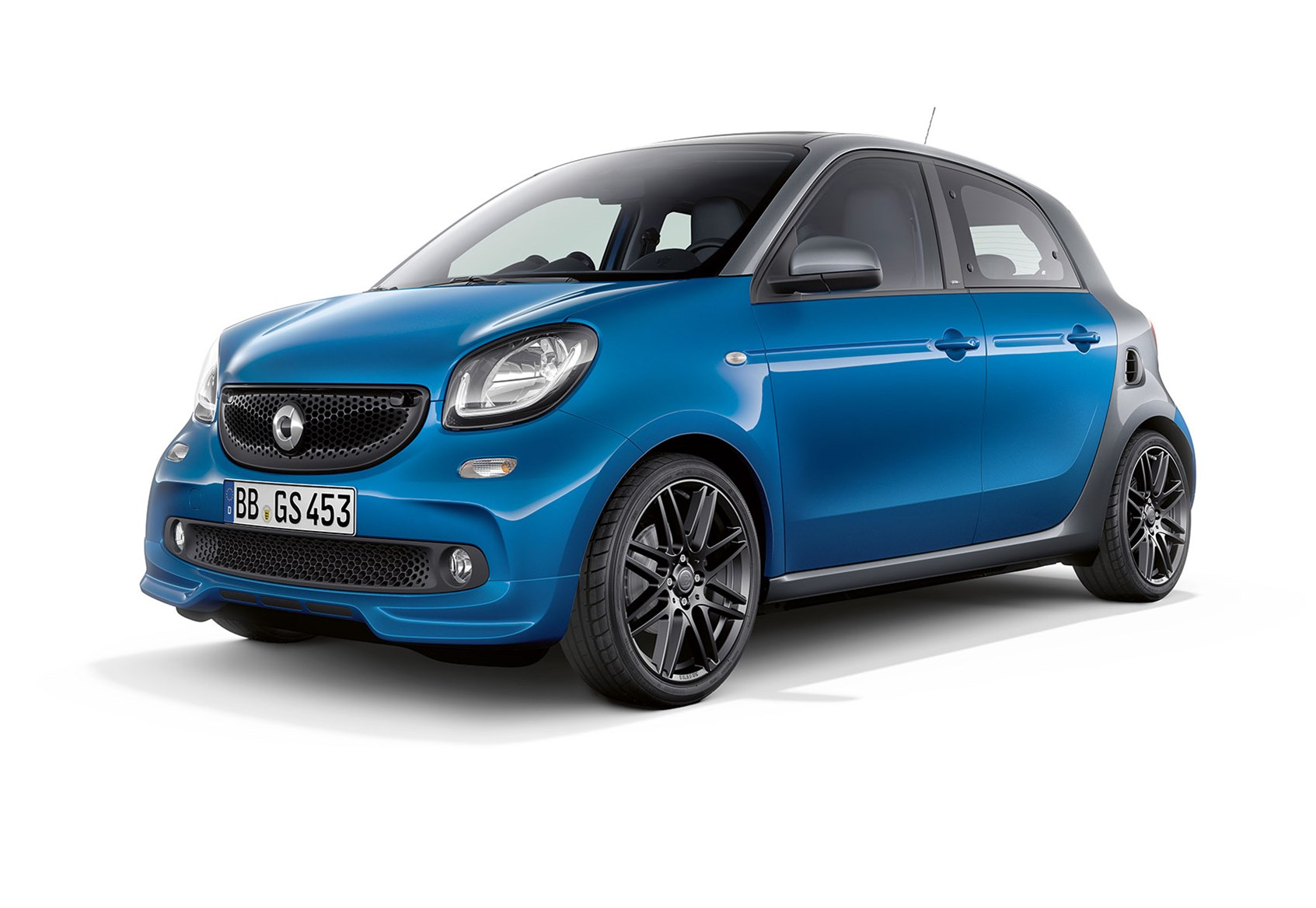 Smart Fortwo Cabrio Brabus edition: the roller-skate opens ...