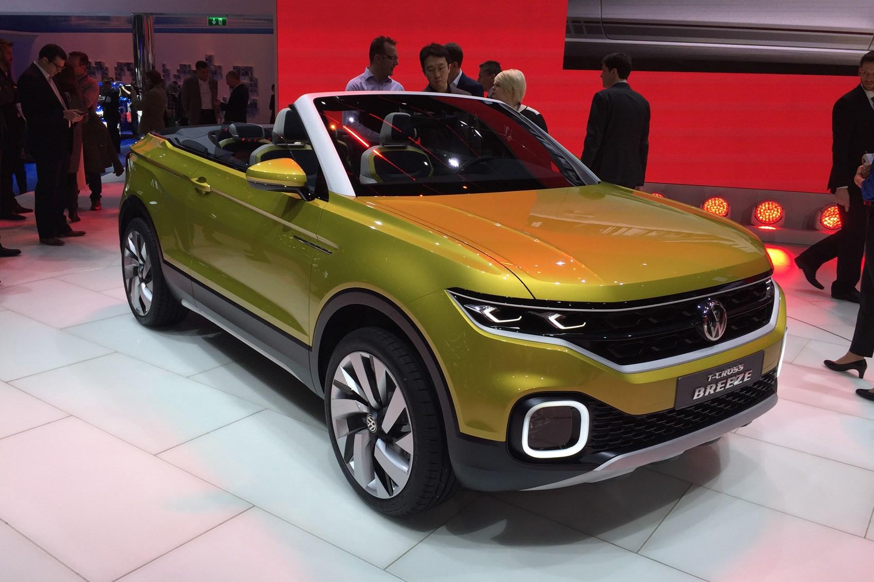 Infiniti Convertible >> Volkswagen T-Cross Breeze concept: the compact Evoque convertible from VW | CAR Magazine