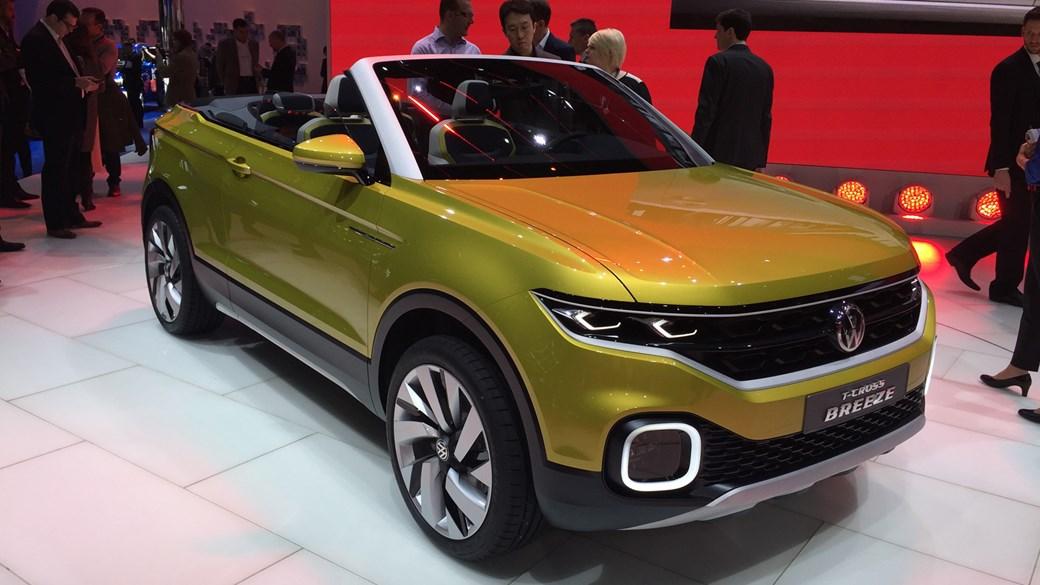 VW T Cross Breeze Concept ...