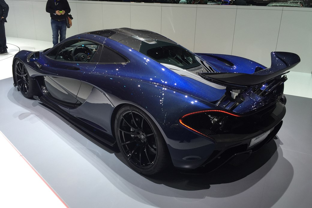 More Carbonfibre Sir McLaren Special Operations P1 And 675LT