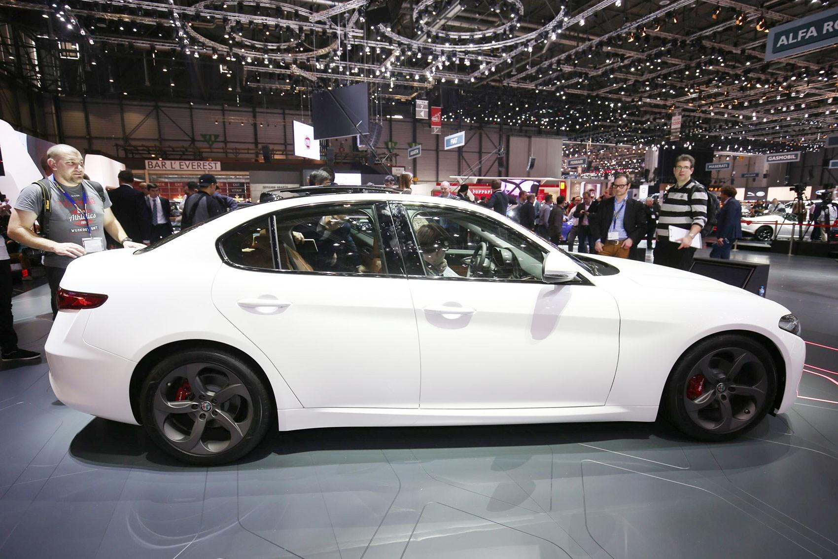 alfa romeo new car releasesNew Alfa Romeo Giulia spec secrets still want that 3series by