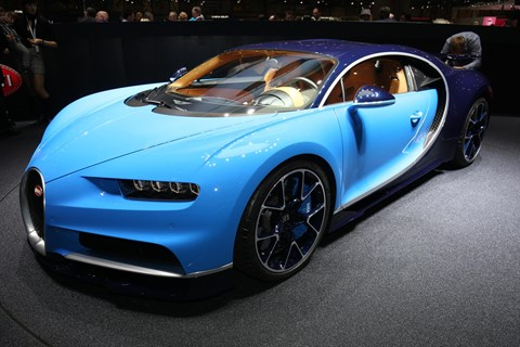Bugatti Chiron: a real wow moment