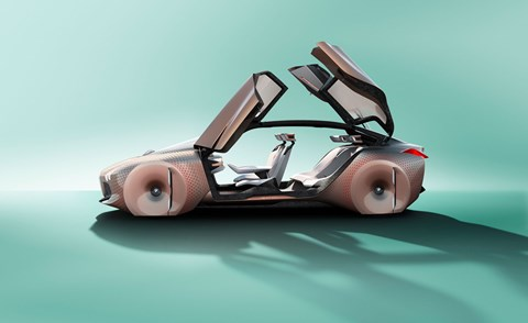 A proper look at the BMW Vision Next 100