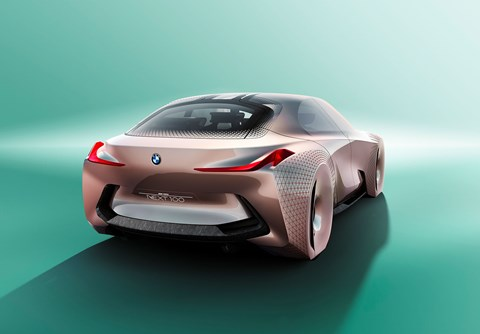 Ultimate driving machine? It's the future BMW driving, right there