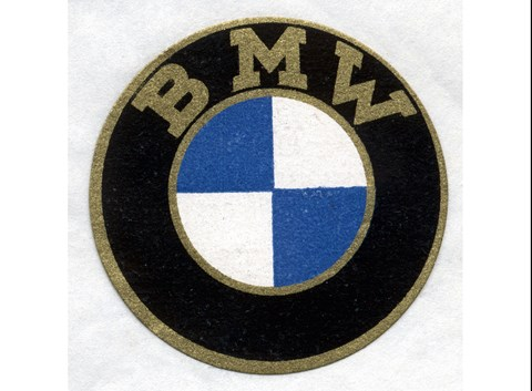 The original BMW badge from 1917