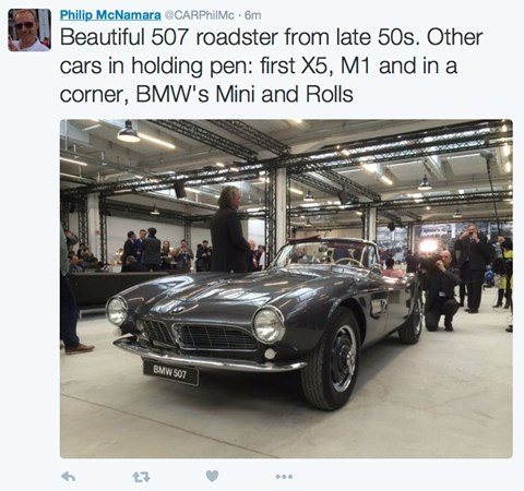 A roster of amazing BMWs from the archives is on show today