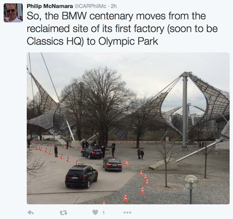 Live from the BMW centenary