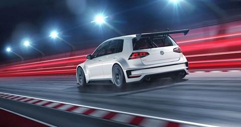 The VW Golf world touring car
