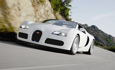 Bugatti Veyron: not your cleanest eco-hero